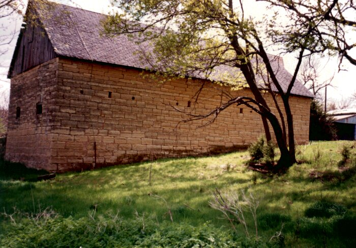 Historic native stone buildings